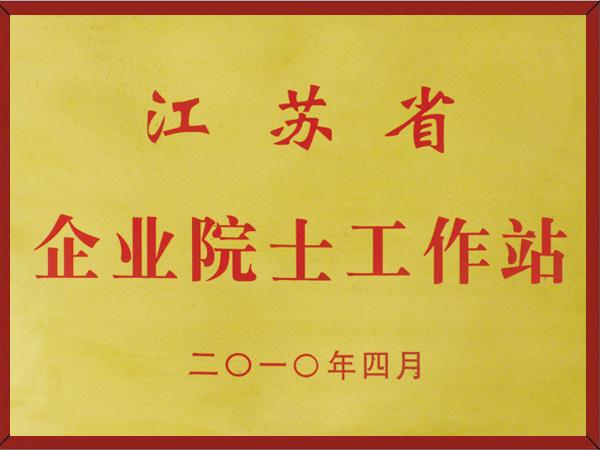 江苏省企业院士工作站证书
