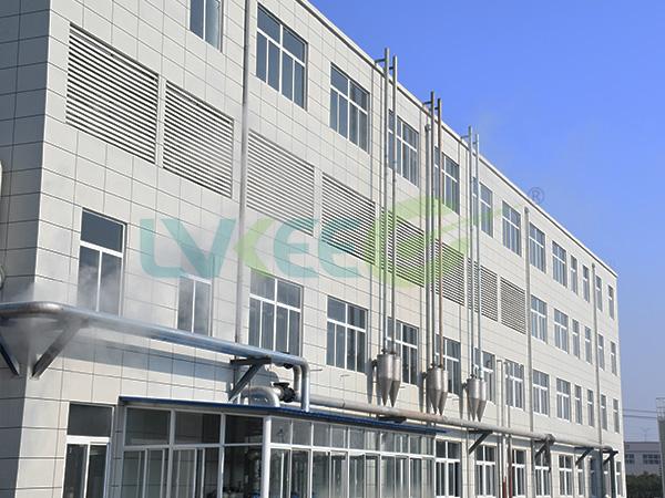 江苏绿科发酵车间外表图片
